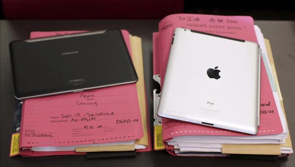 Samsung y Apple, guerra de patentes