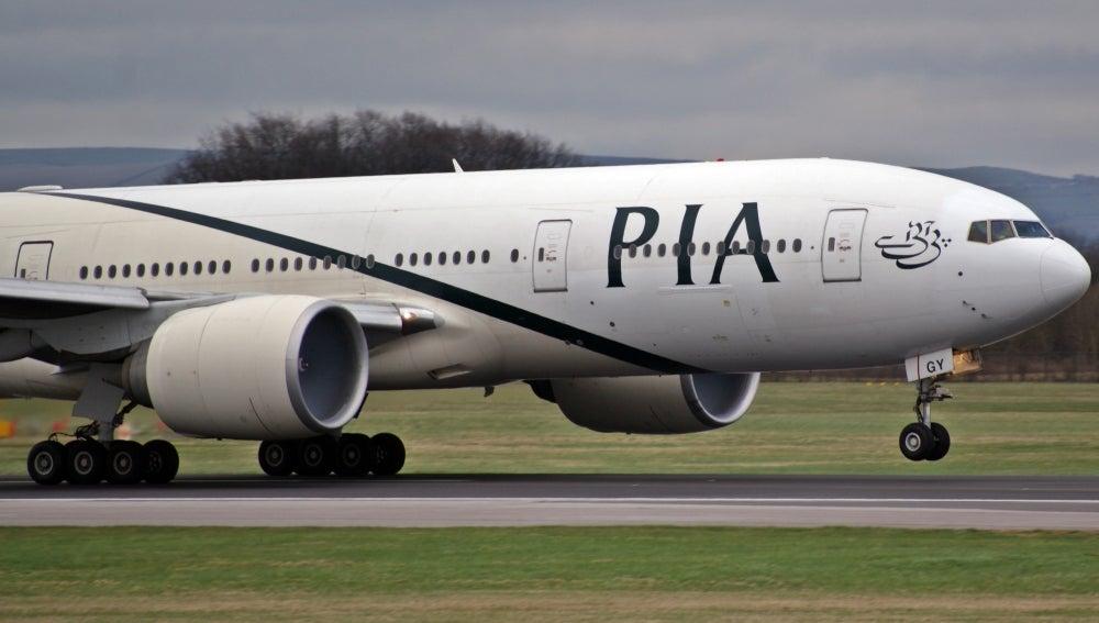 Avión de la compañía Pakistan International Airlines