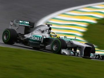 Nico Rosberg, en Interlagos