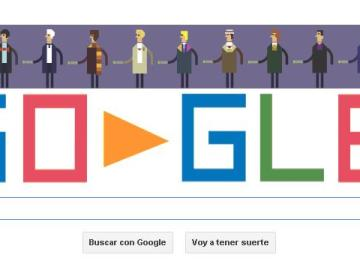 Google homenajea al Doctor Who