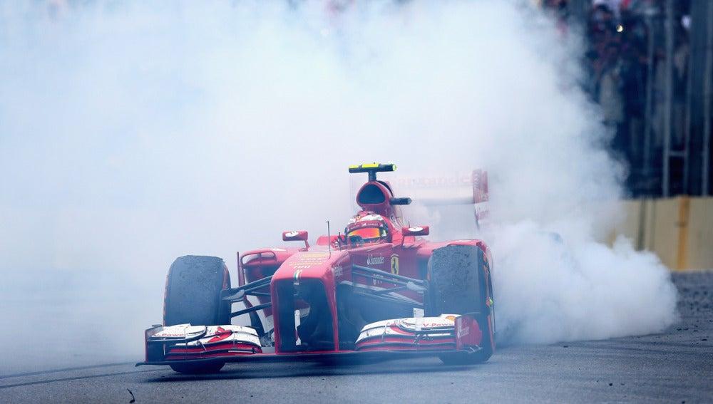 Massa, en su adiós a Ferrari