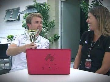 Rosberg, coronado campeón del 'Juego Imposible'