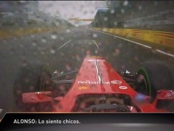 Alonso pidió perdón por su tercer puesto en Brasil