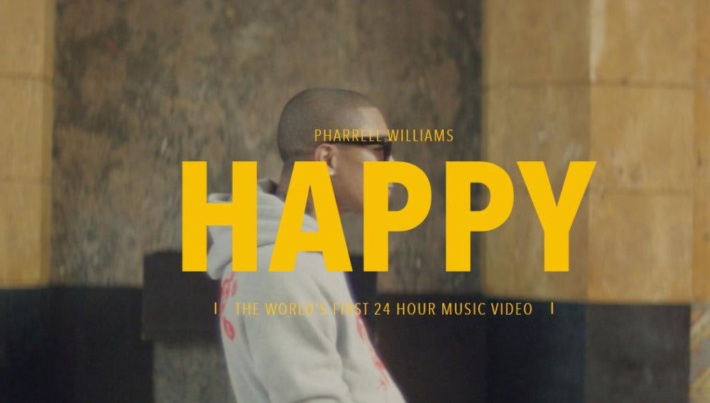 'Happy', el nuevo videoclip de Pharrel Williams