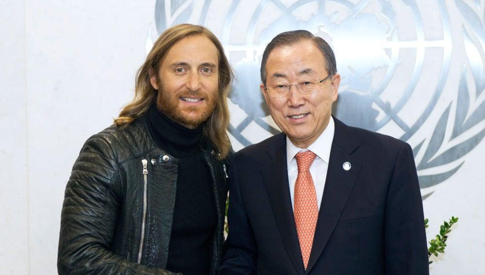 David Guetta y la ONU lanzan un vídeo