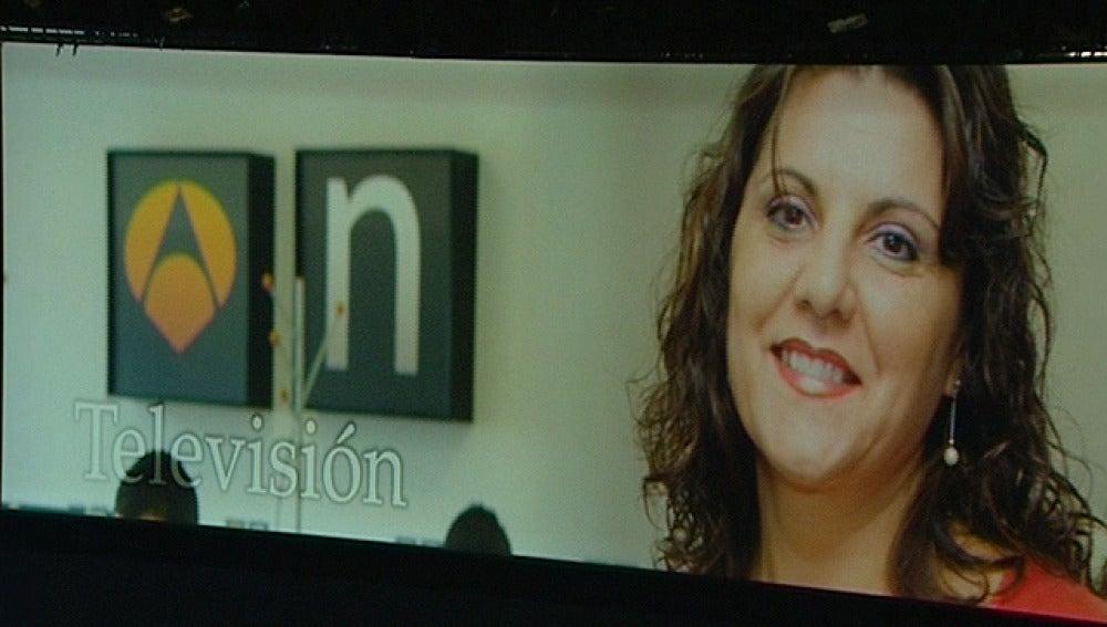 La reportera de Antena 3 Noticias Nuria Briongos