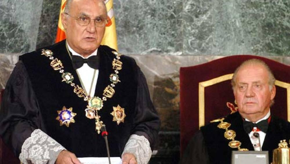 El magistrado del Tribunal Constitucional Francisco José Hernando