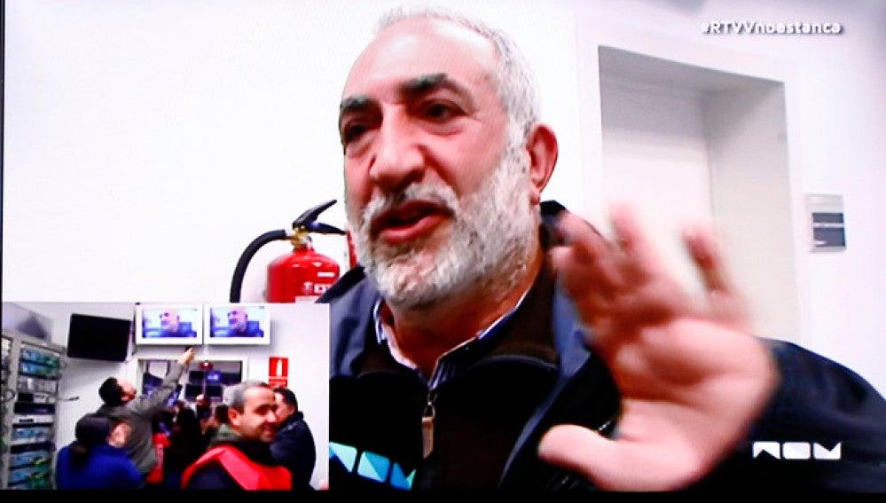 Paco Telefunken se niega a llevar a negro a Canal Nou