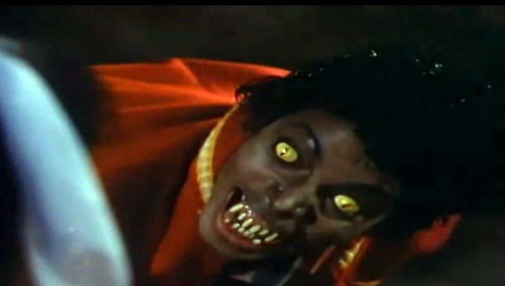 Michael Jackson en 'Thriller'