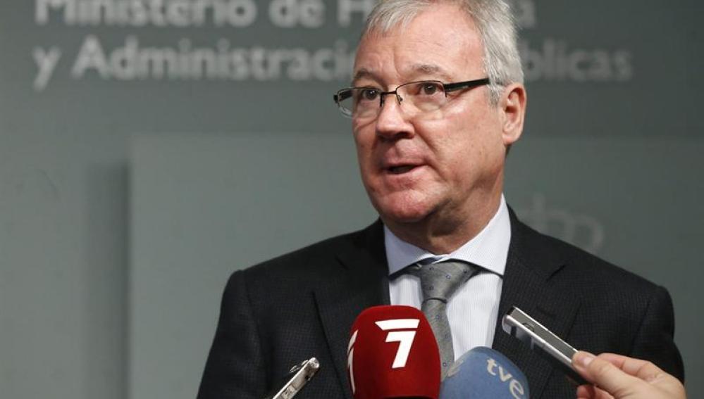El expresidente de la región de Murcia, Ramón Luis Valcárcel