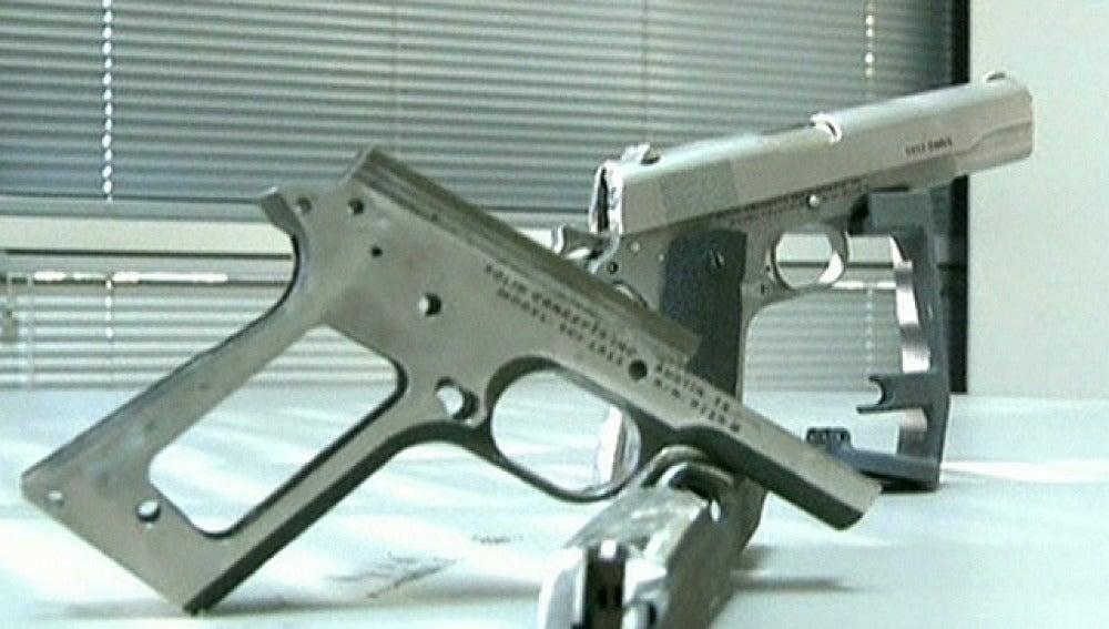 La primera pistola creada con una impresora 3D