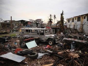 Se cumple un mes del paso del tifón Yolanda