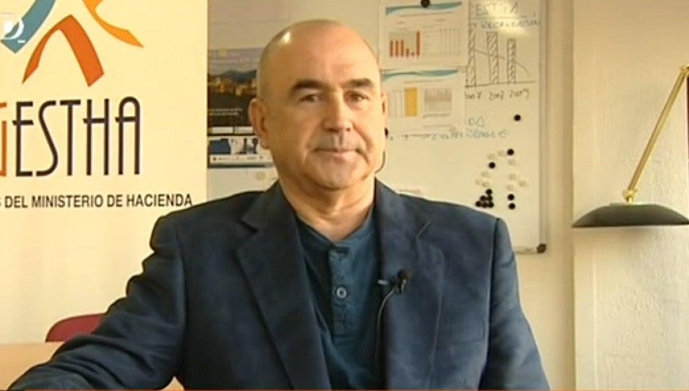 Manuel Redal, inspector y miembro de Ghesta