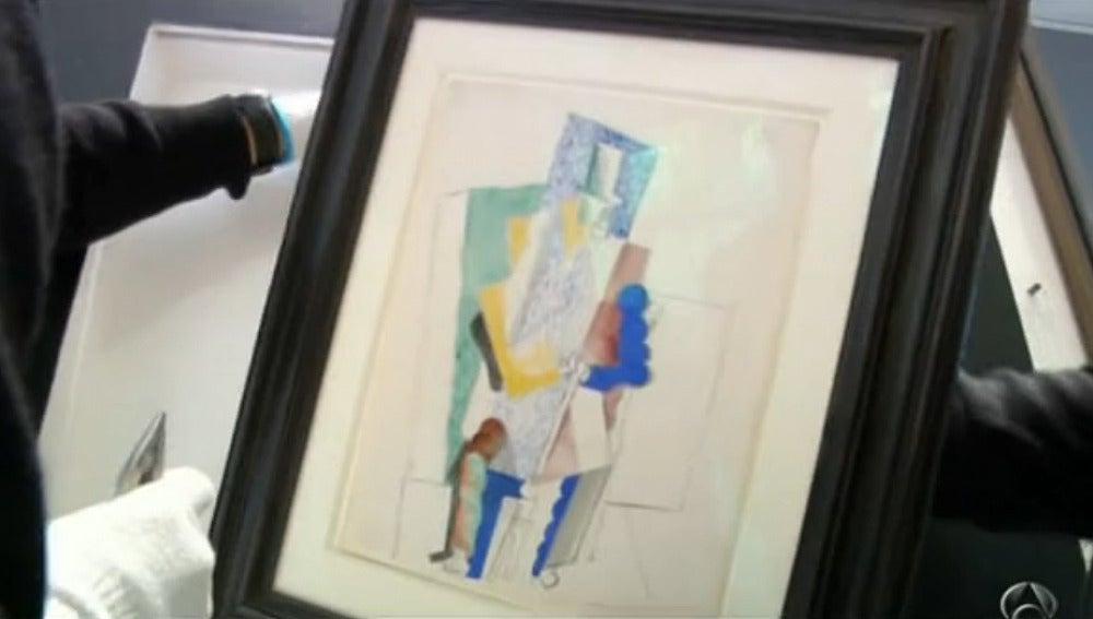 El Picasso que se rifará el día 18