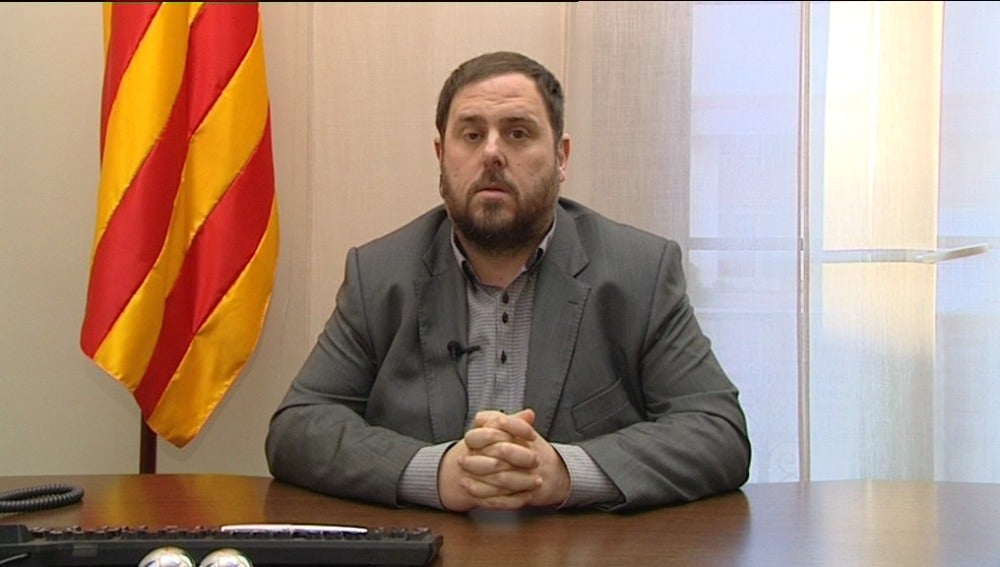 Oriol Junqueras, líder de ERC