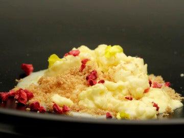 Mousse de lima y yogur
