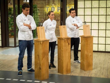 Los tres finalistas
