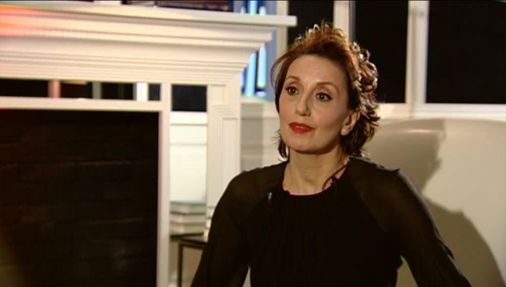 Luz Casal, en una entrevista exclusiva para Antena 3 Noticias