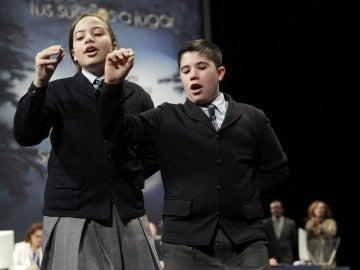 Cantan el primer cuarto premio