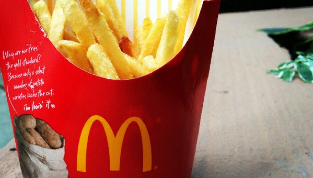 Imagen de uno de los productos a la venta en McDonalds