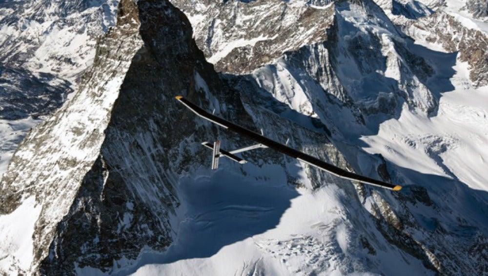 El Solar Impulse, en vuelo