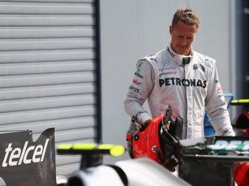 El expiloto de Fórmula 1, Michael Schumacher