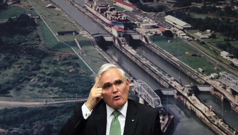 Jorge Quijano, administrador del Canal