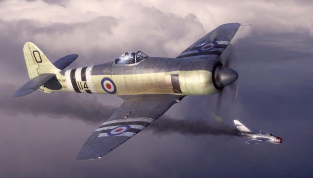 Imagen de archivo de un caza británico.