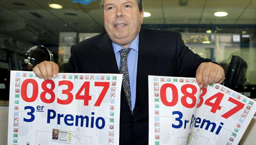 Jordi García Valdés vendió el número 08347
