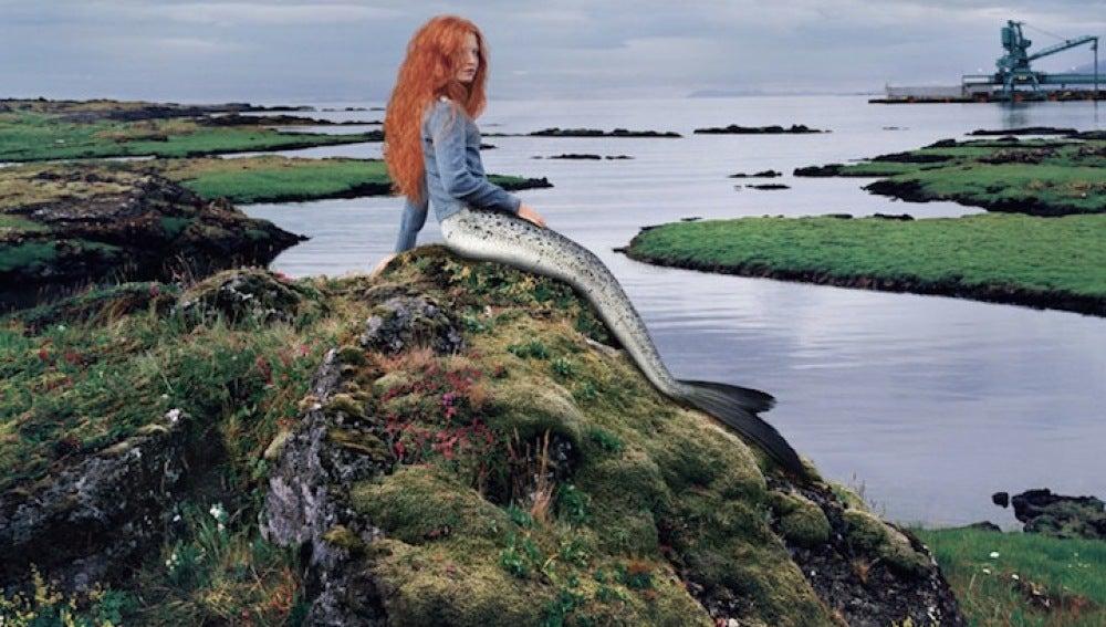 Una sirena de Islandia