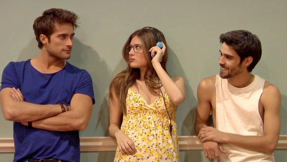 Rodrigo, Nerea y Pablo