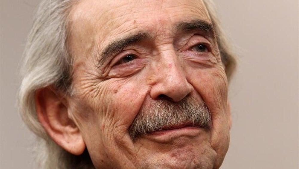Imagen del poeta argentino Juan Gelman.