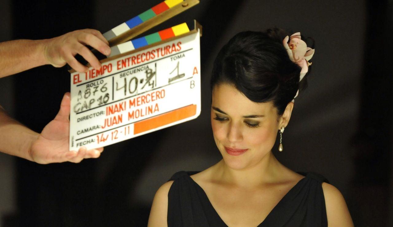 Adriana Ugarte lista para rodar