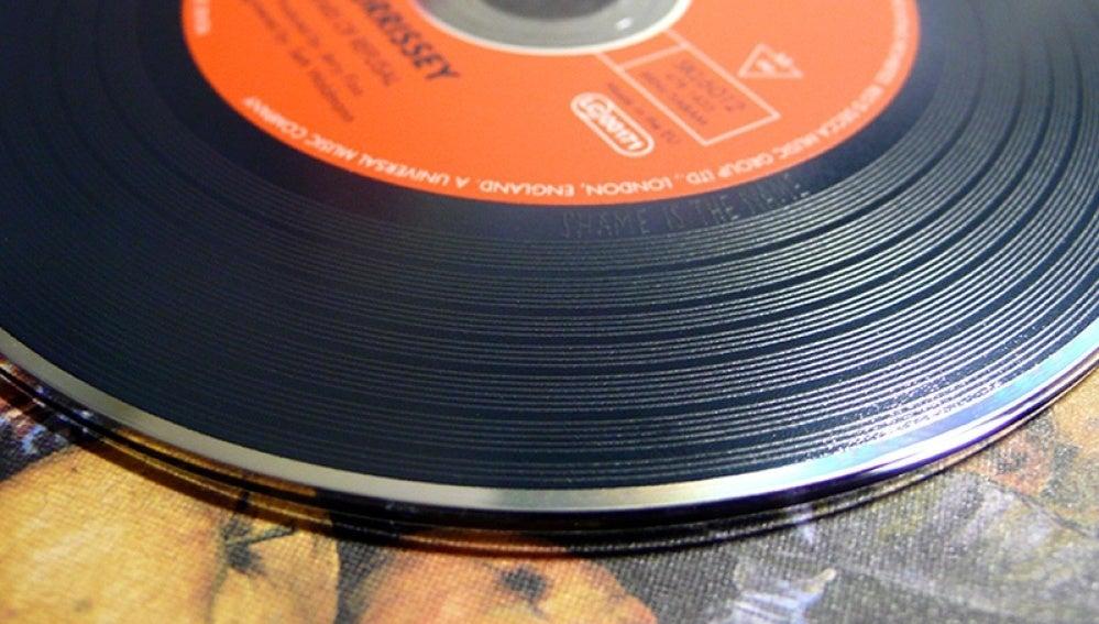 Un disco de vinilo