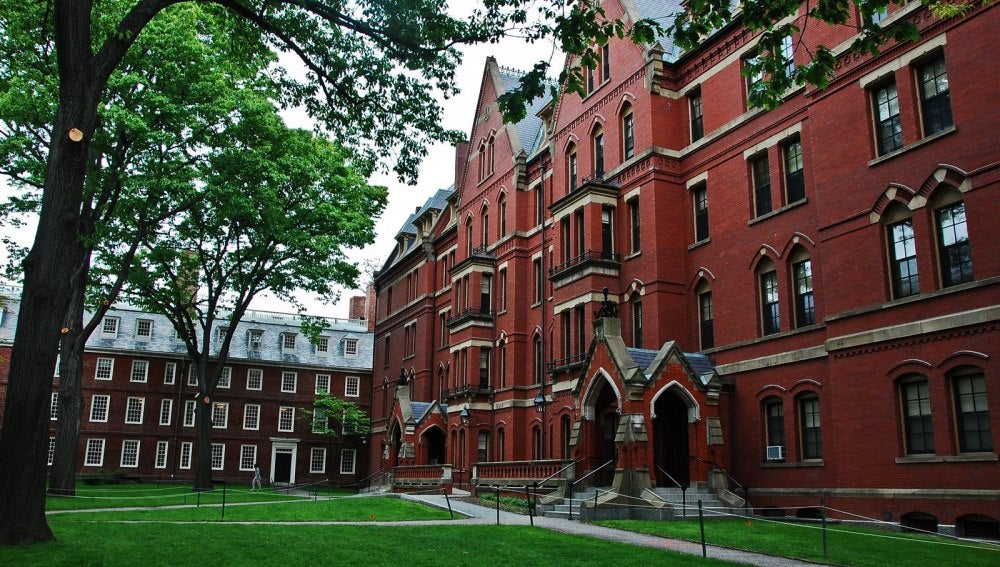 Universidad de Harvard, Massachusetts, Estados Unidos.