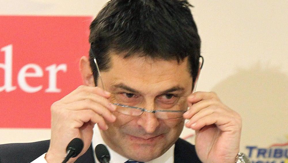 El presidente de la Corporación Mondragón, Txema Gisasola