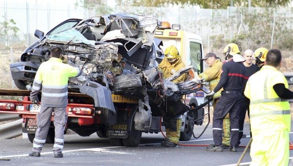 Accidente de tráfico en Torrevieja
