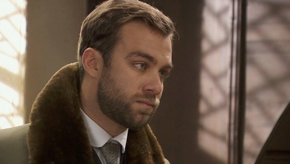 Fernando sorprende a María en el convento
