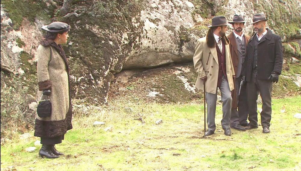 Francisca y Fernando puente viejo
