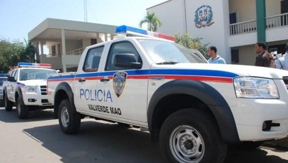 Coche de Policía de la República Dominicana