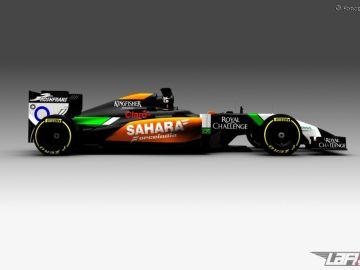 El nuevo Force India VJM07