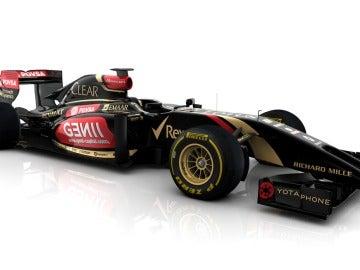 Así es el nuevo E22 del equipo Lotus