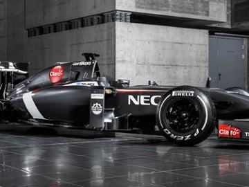 El C33, el monoplaza de Sauber para 2014