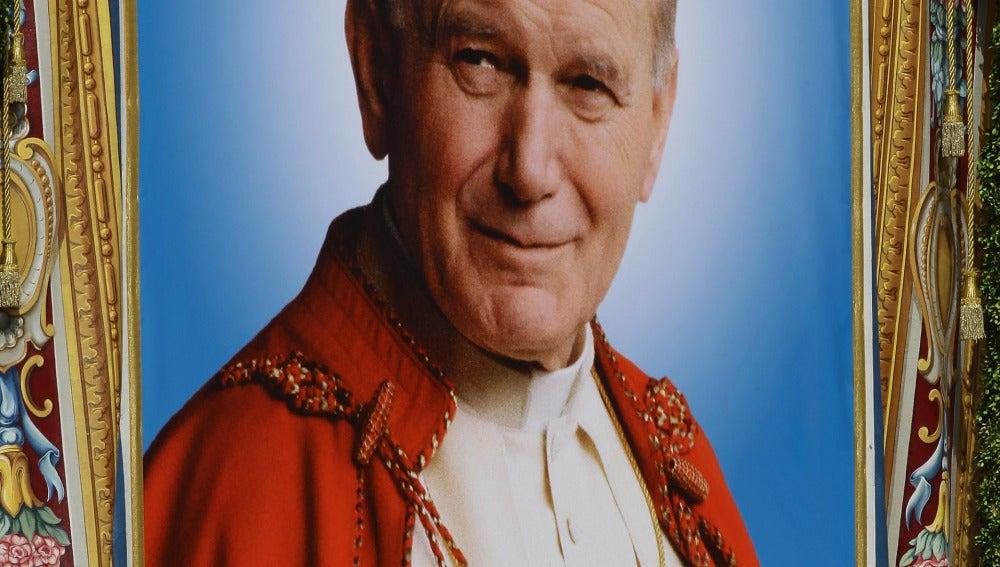 Imagen del Papa Juan Pablo II