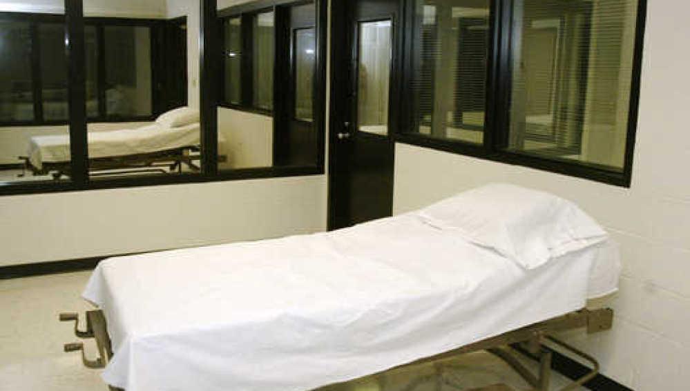 Cámara de la muerte en un correccional americano