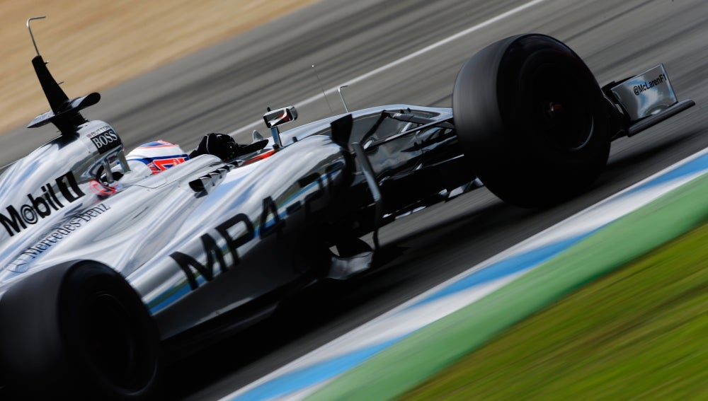 El MP4-29 de McLaren