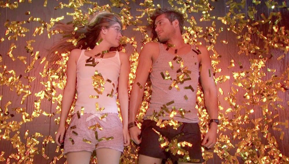 Greta y Jota lluvia de confeti