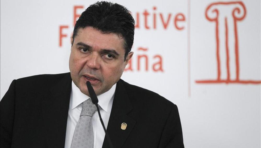 El embajador panameño, Roberto Eduardo Arango.