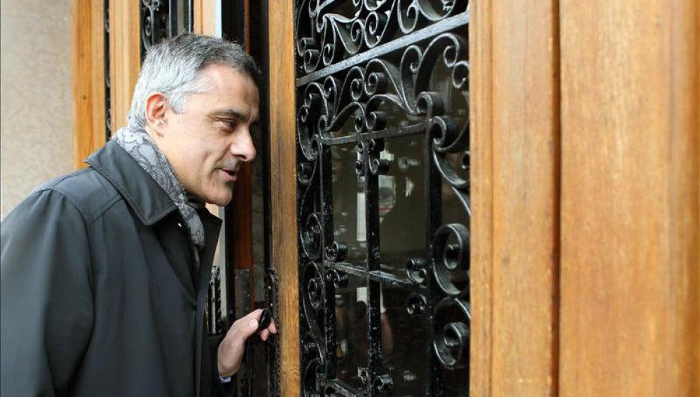 El abogado de la infanta Jesús María Silva.
