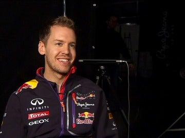 Sebastian Vettel, entrevistado para Antena 3